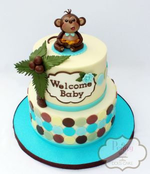 Robyn's Monkey Cake Watermarked